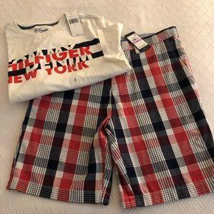 Tommy Hilfiger Men's Shorts & T Shirt